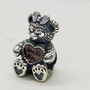Pandora silver Disney Shellie May Bear Charm new